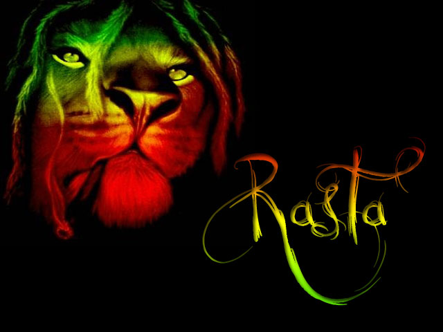 My Top CollectionRasta Smoke Lion Wallpaper