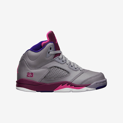 Air Jordan 5 Retro (10.5c-3y) Pre-School Girls' Shoe # 440893-009