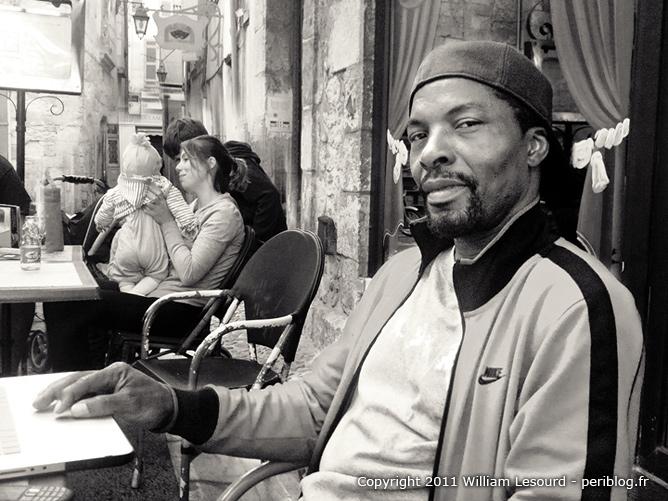 Isaach de Bankolé à Périgueux en 2011