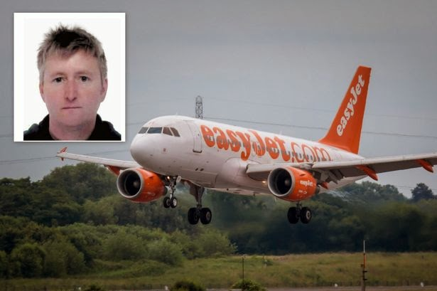 Easyjet cabin manager Dennis Connolly