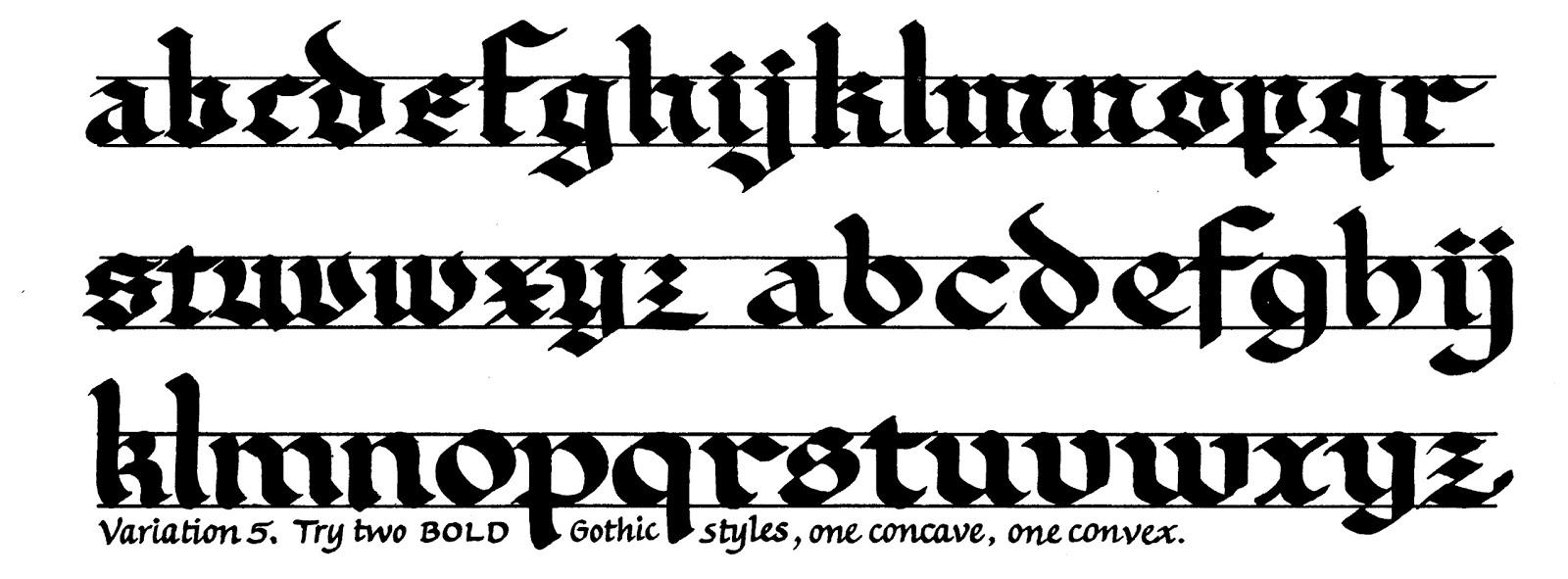 Margaret Shepherd Calligraphy Blog 144 Deflated Short Gothic