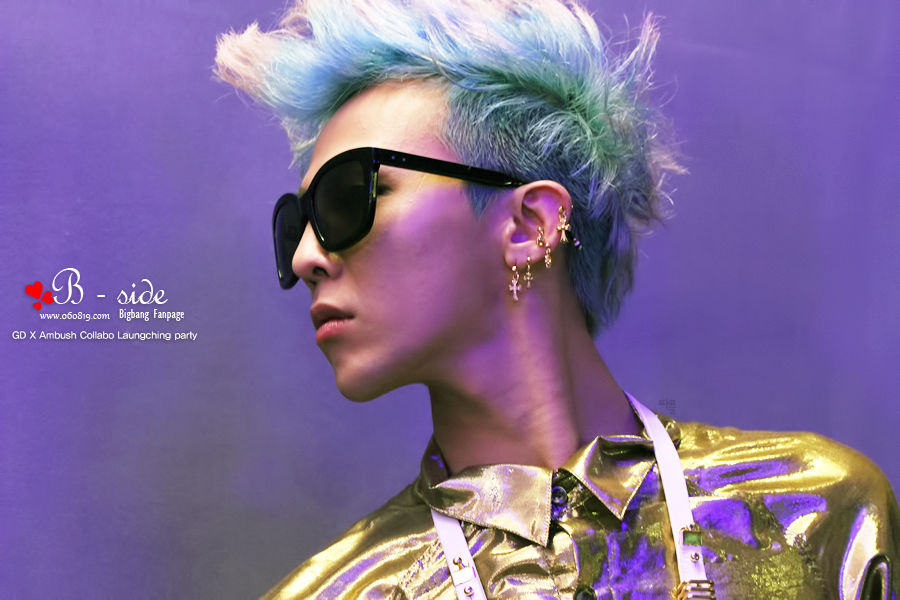 G Dragon 2014 Blue Hair Oddness/Weirdness: An ...