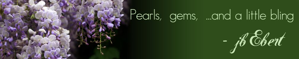 jbEbert - pearls, gems and a little bling