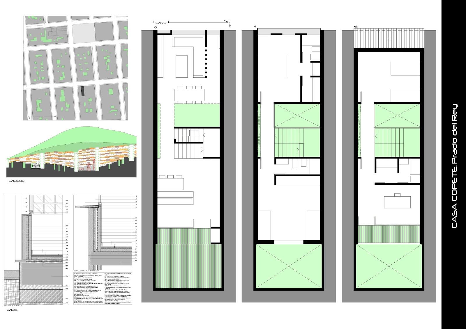 apuntes revista digital de arquitectura tres casas