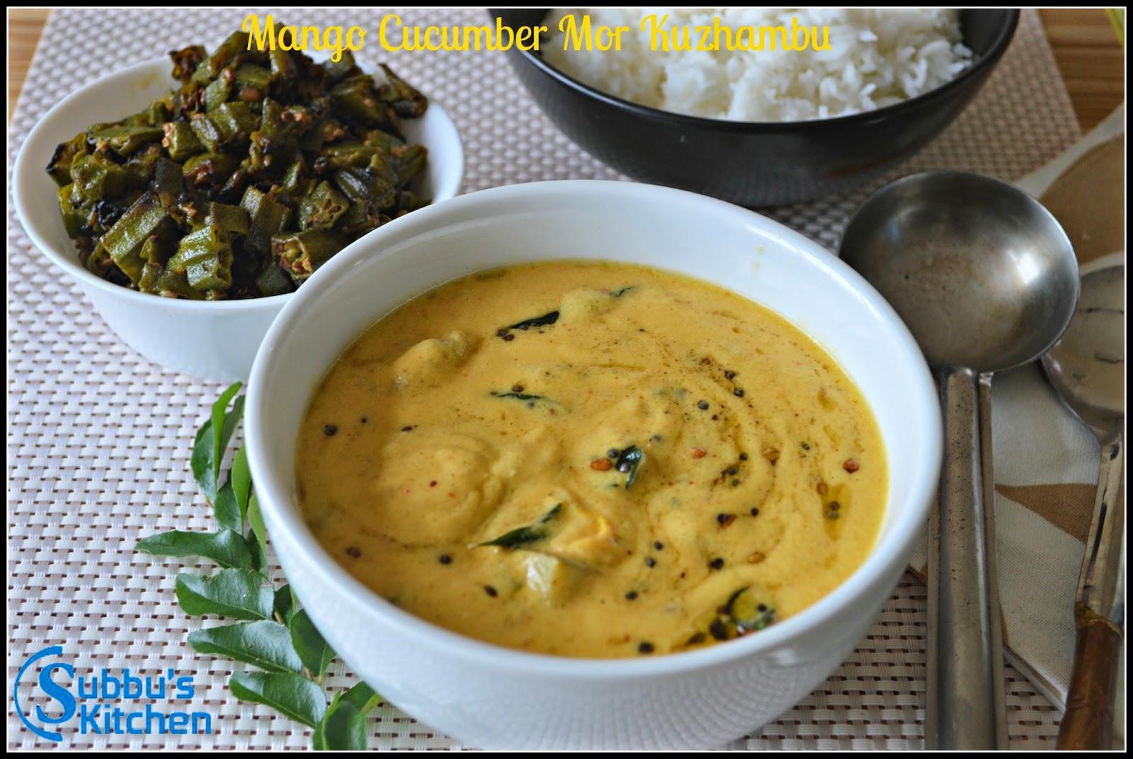 Raw Mango Moorkuzhambu(Maangai Moorkuzhambu)