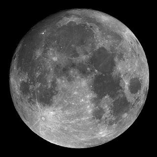 Fotografia da Lua Cheia