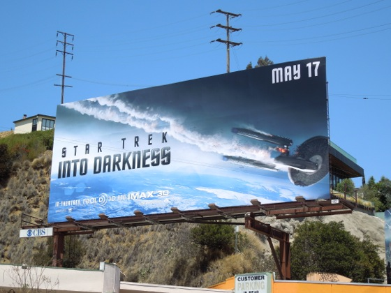 Star Trek Into Darkness billboard