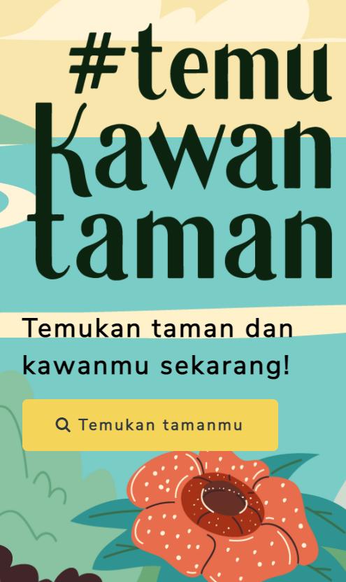 Yuk ikuti peluncuran website #KawanTaman!