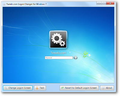 Windows 7 Logon changer
