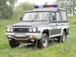 Romanian ARO 246 Police