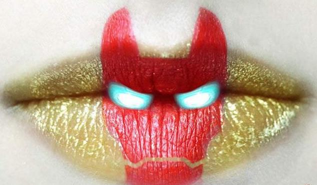 7 Foto Seni Lukis Bibir (Lip Art) Yang Mengagumkan - Trends7Media