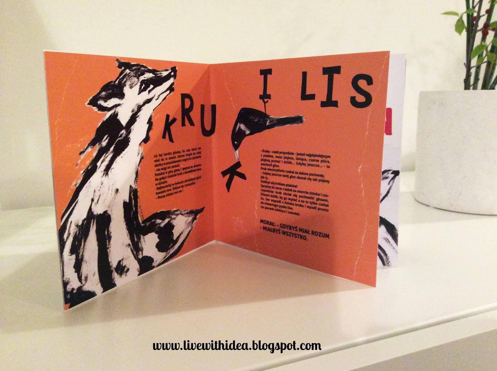 bajki ezopa ilustracje książeczka dla dzieci