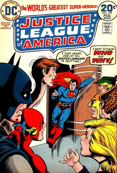 Justice League of America #109