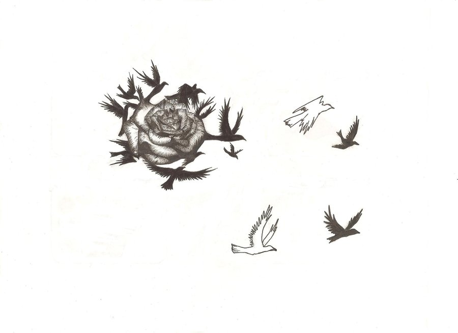 Black Rose Tattoo Designs Ideas Photos Images | Popular ...