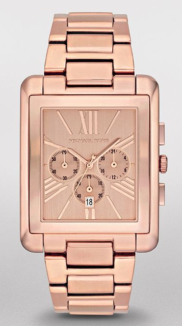 Michael Kors Chrono Rosegold Watch RM499