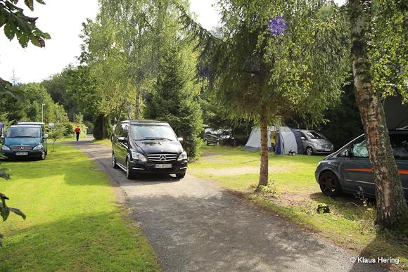Mercedes V Herbsttreffen - Campingplatz Eulenburg Osterode Harz