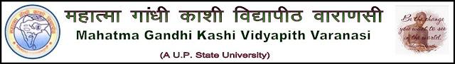 Mahatma Gandhi Kashi Vidyapith Result 2013