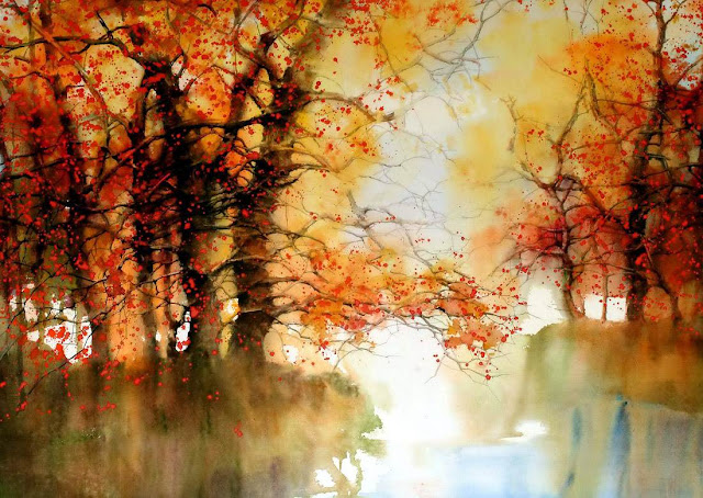 осень в живописи Z. L. Feng