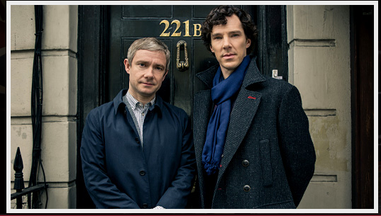 SHERLOCK via Masterpiece PBS