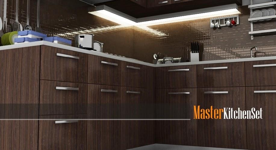 Kitchen set solo blog master coklat 2
