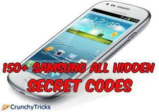Samsung Hidden Secrets Codes