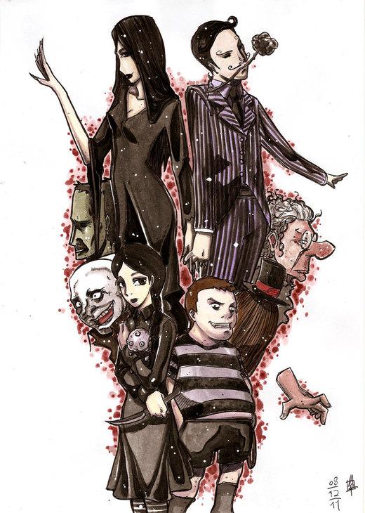A Familia Addams por belmont1a3t