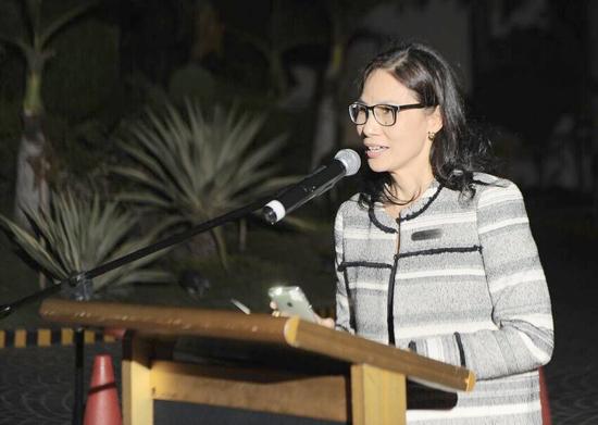Marco Polo Davao General Manager Dottie Wurgler-Cronin