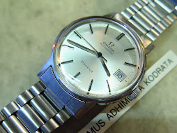 OMEGA GENEVE SILVER DIAL - AUTOMATIC 1012