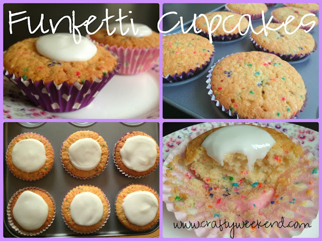 funfetti cupcakes recipe instructions