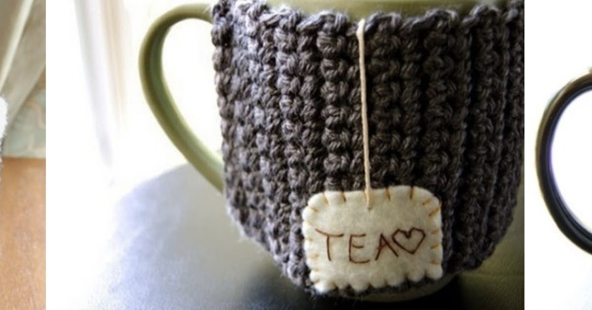 Knitted Mug Warmers Pattern : Trends With Benefits: DIY: Knitted Mug Warmers