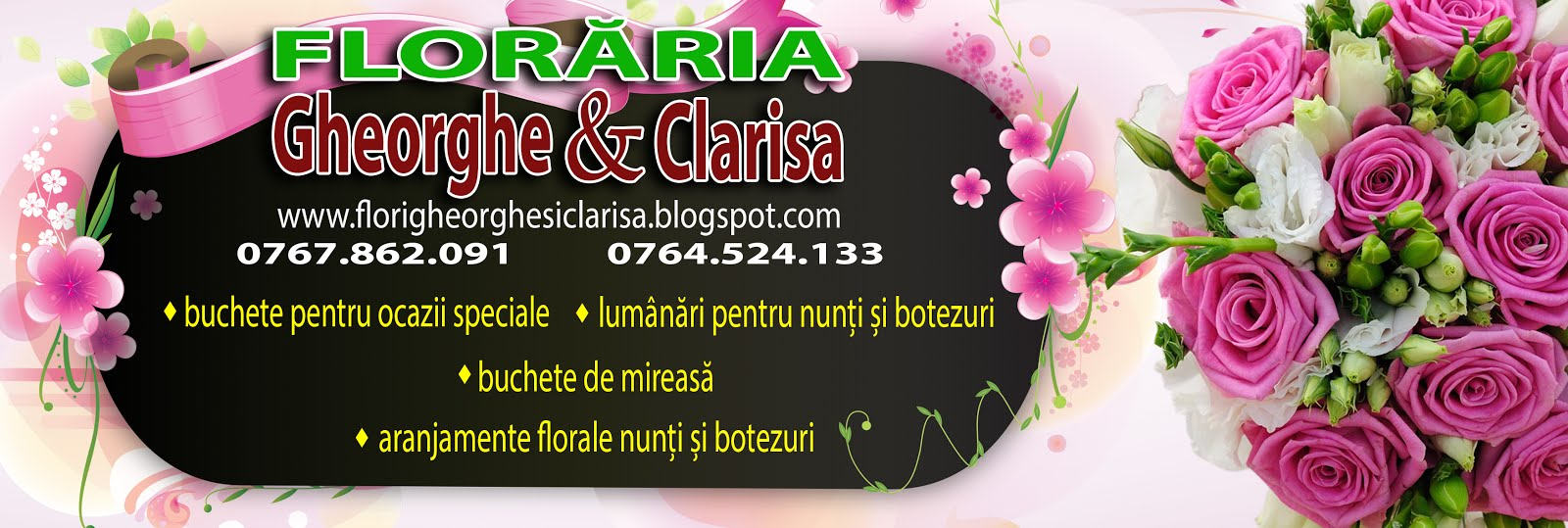 Floraria Gheorghe si Clarisa - Florarie Slatina
