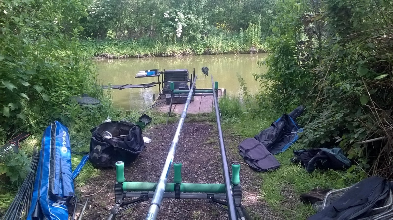 Fishing ken 39 s angling log 14 06 15 lands end match for Hubbards fishing float