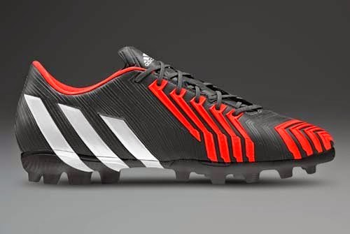 Adidas Predator Instinct with Black and Solar Red
