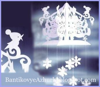 Новогодние украшения из бумаги своими руками на