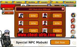 Cheat Ninja Saga NPC Work by Cheat-Afrix