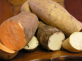 how to make yam chips