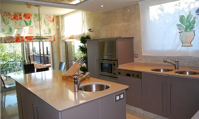 Becca decoraci n sagrario rodulfo una isla en la cocina for Muebles de cocina con isla central