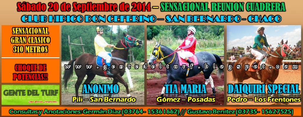 San Bernardo Sábado 20 - 09