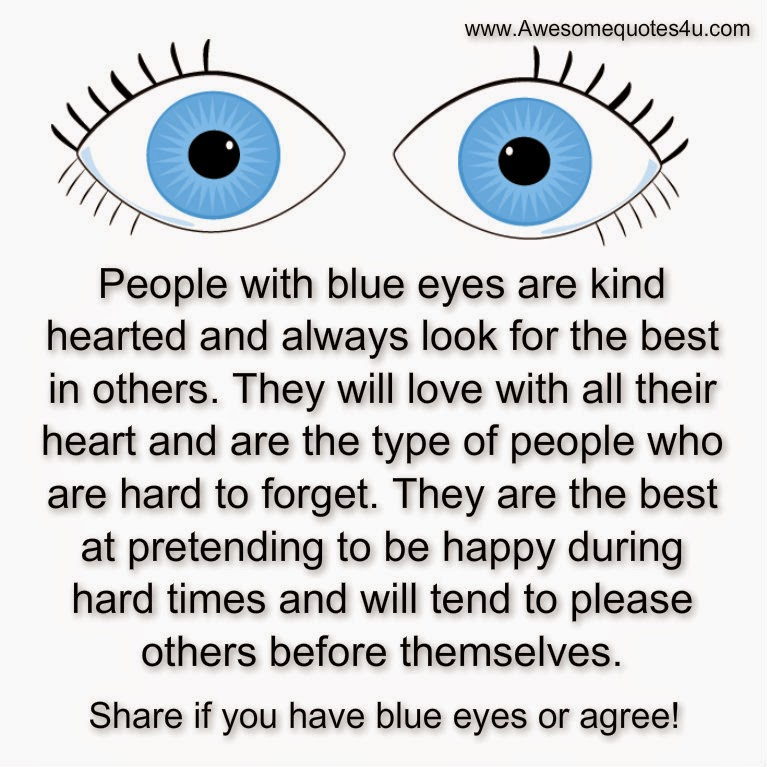 Quotes About People With Blue Eyes Quotesgram