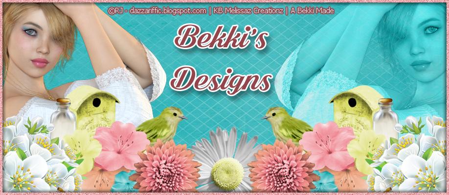 Bekki's Designs