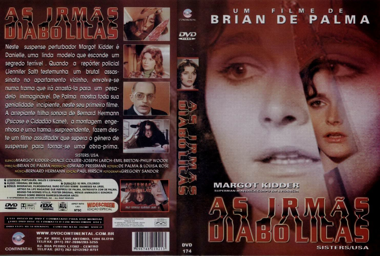 Capa DVD As Irmãs Diabólicas