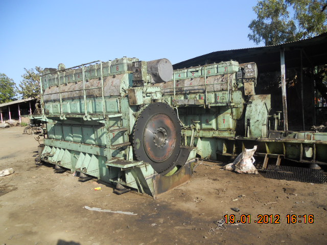 Used Marine Diesel Engine Man B W 7l 28 32a For Sale