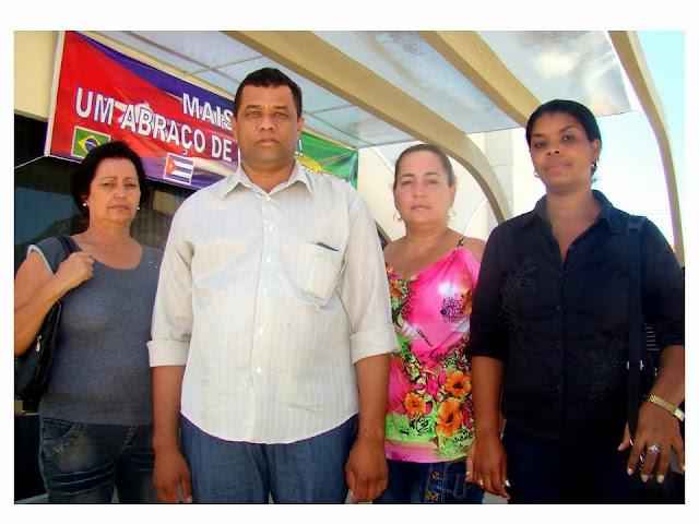 Médicas Cubanas São Recebidas Com Festa Pelo Povo De Itiúba-BA