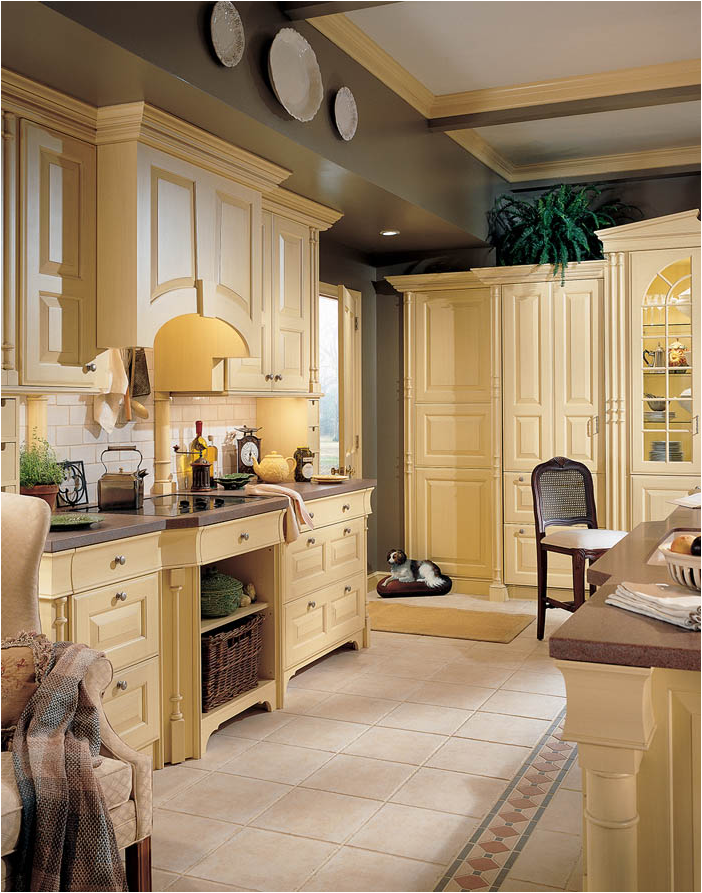English country kitchen ideas room design inspirations for Country kitchen designs