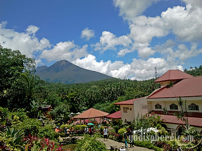 View of Mt. Banahaw from the Grotto