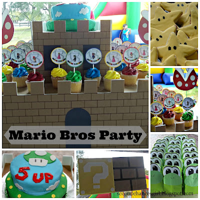 Classic Mario Bros Birthday Party