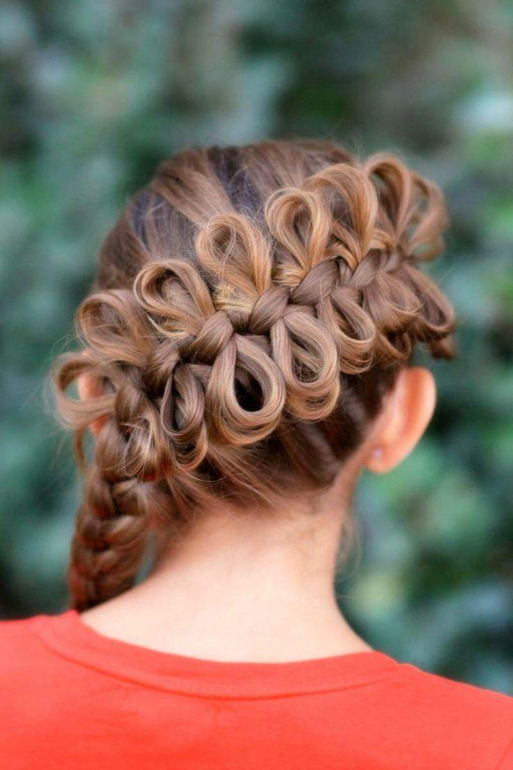 Красивые причёски для девочки