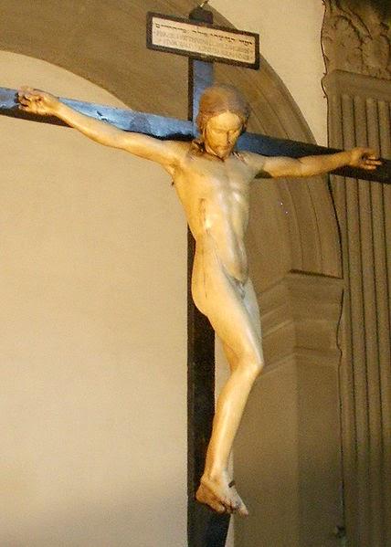 http://en.wikipedia.org/wiki/File:Santo_Spirito,_sagrestia,_crocifisso_di_michelangelo_04.JPG