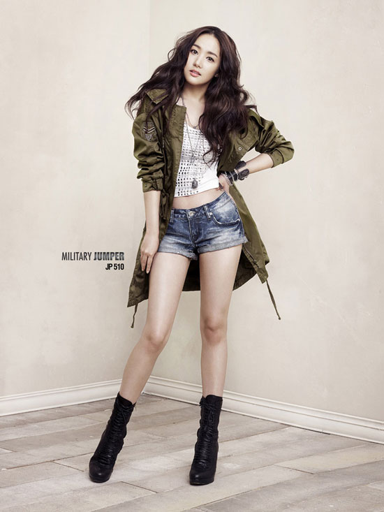 Entert4inment Park Min Young With Buckaroo Jeans