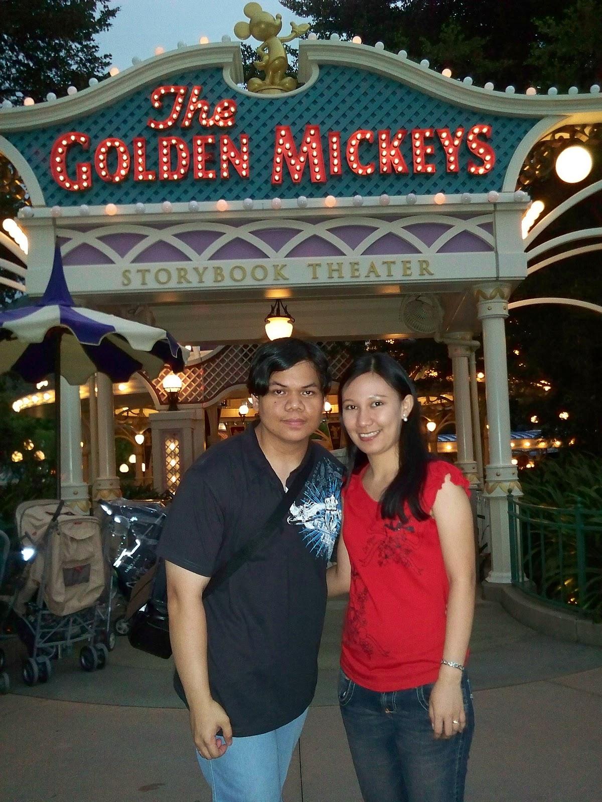 Hong Kong Disneyland Golden Mickeys